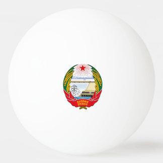 North Korean emblem Ping Pong Ball