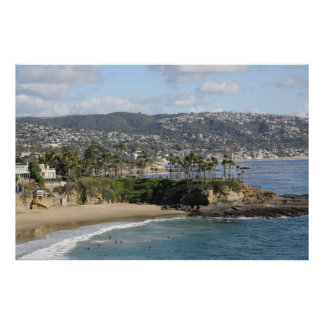 North Laguna Beach California Poster