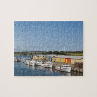 North Lake Harbour, Prince Edward Island. Jigsaw Puzzle