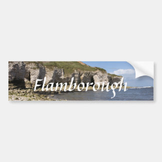 North Landing at Flamborough in Yorkshire photo Bumper Sticker