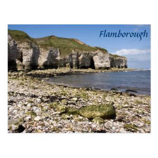 North Landing at Flamborough in Yorkshire photo Postcard