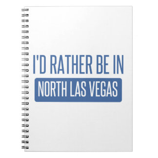 North Las Vegas Spiral Notebook