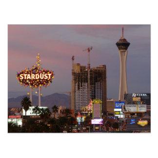 North Las Vegas Strip Sunset 2006 Postcards