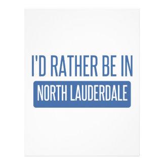 North Lauderdale Custom Letterhead