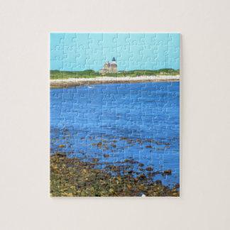 North Light Block Island Jigsaw Puzzle