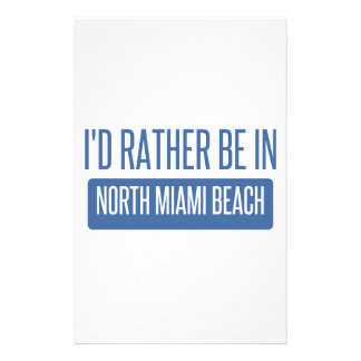 North Miami Beach Stationery