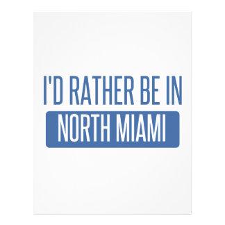 North Miami Custom Letterhead