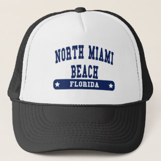 North Miami Florida College Style tee shirts Trucker Hat