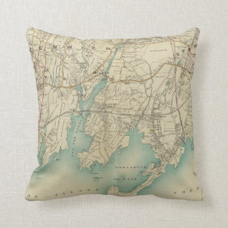 North New York City 7 Throw Pillow