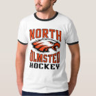 North Olmsted Hockey Ringer T-Shirt