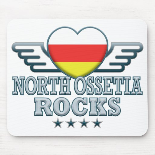North Ossetia Rocks v2 Mousepad