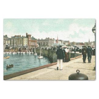 North Pier, Bridlington (1905) Tissue Paper