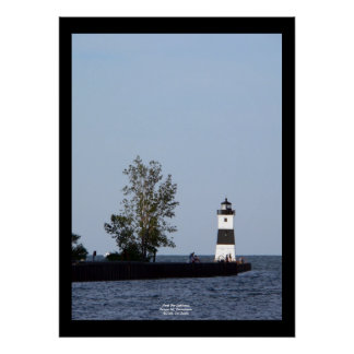 North Pier Lighthouse, Presque Isle, PA Poster
