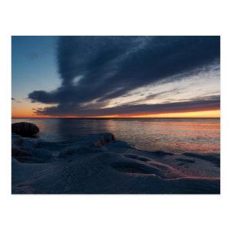 North Point Sunrise Milwaukee, Wisconsin Postcard