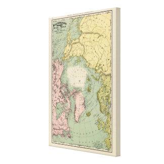 North Polar Regions Canvas Print
