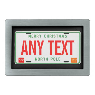 North Pole 2017 Belt Buckles