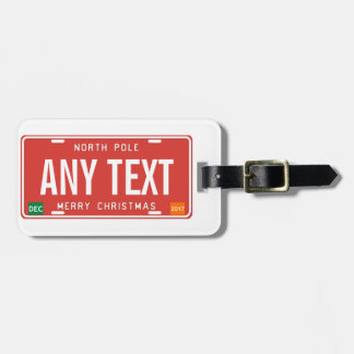 North Pole 2017 Luggage Tag
