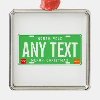 North Pole 2017 Metal Ornament