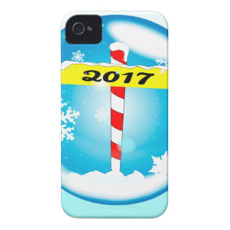 North Pole 2017 Winter Globe iPhone 4 Covers