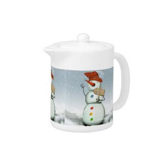 North Pole Bound Snowman