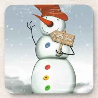 North Pole Bound Snowman Coaster