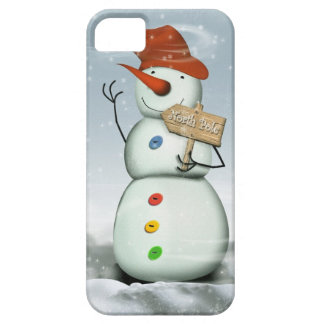 North Pole Bound Snowman iPhone 5 Cases
