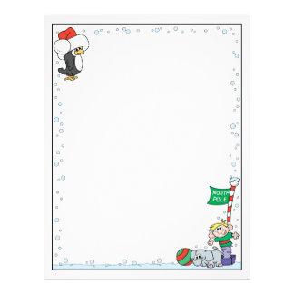 North Pole Christmas Customized Letterhead