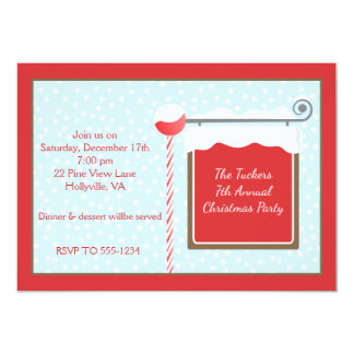 North Pole Christmas Party Invitation