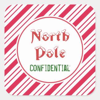 North Pole Confidential Stickers