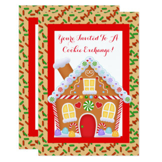 North Pole Cookie Exchange party invitation
