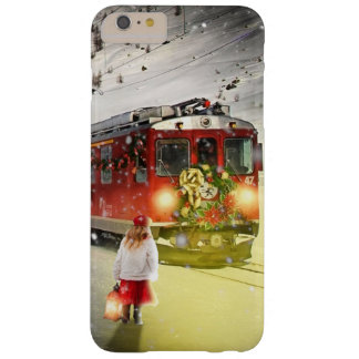 North pole express - christmas train - santa train barely there iPhone 6 plus case