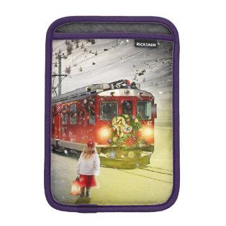 North pole express - christmas train - santa train iPad mini sleeve