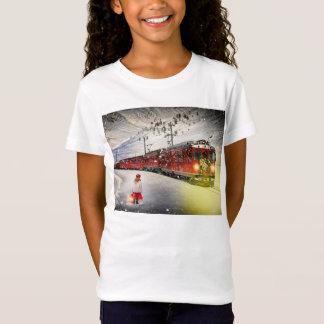 North pole express - christmas train - santa train T-Shirt