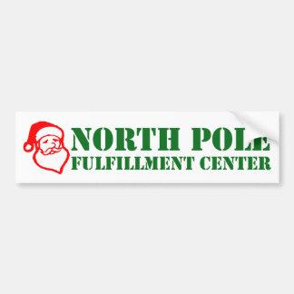 North Pole Fulfillment Center Bumper Sticker