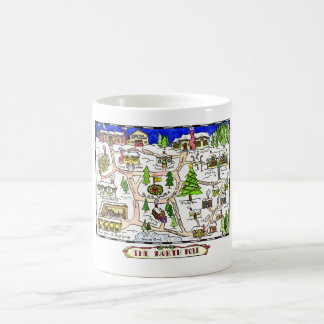 North Pole Map Mug