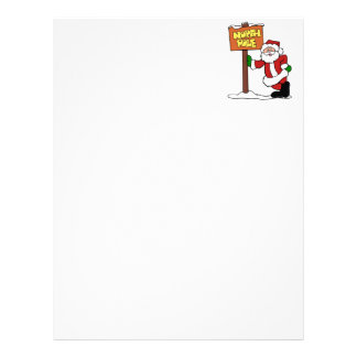 north pole santa claus letterhead custom north pole santa