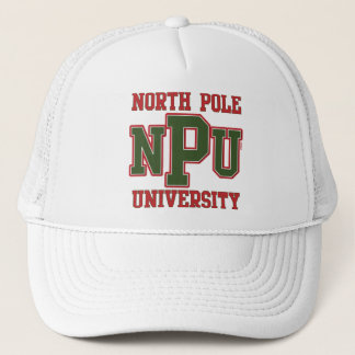 North Pole University Trucker Hat