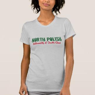 north polish santa nationality funny tshirt design