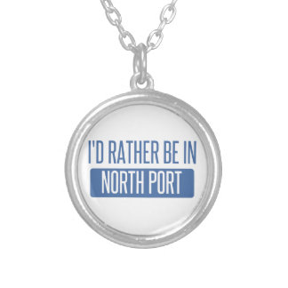 North Port Silver Plated Necklace