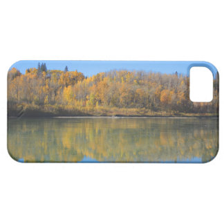 North Saskatchewan River in the fall iPhone 5 Cases