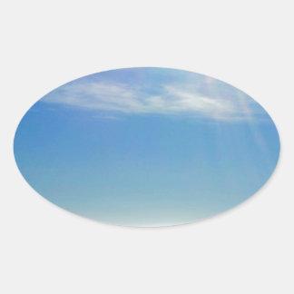 North Sea Oval Sticker
