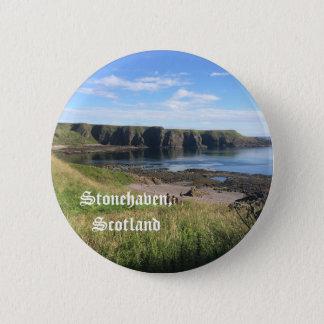 North Sea Stonehaven Button
