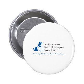 North Shore Animal League Branded 2 Inch Round Button