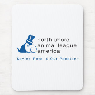 North Shore Animal League Branded Mouse Pad