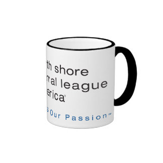 North Shore Animal League Branded Ringer Coffee Mug