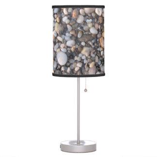 North Shore Beach Rocks Table Lamp