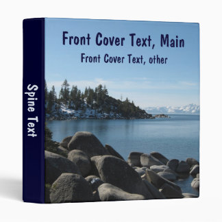 North Shore Lake Tahoe, Incline Village, Nevada Binder