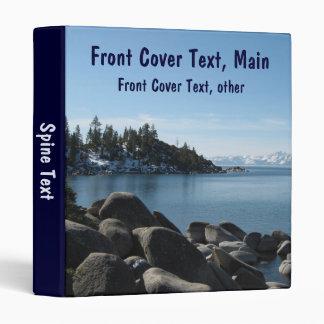 North Shore Lake Tahoe, Incline Village, Nevada Vinyl Binder