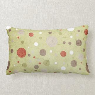 North Snowflakes & Dots Pillow