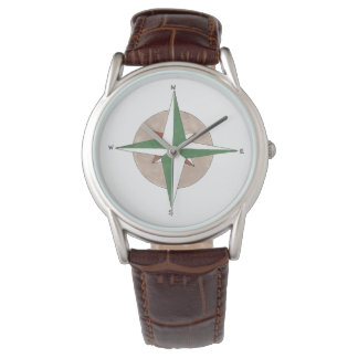 North South East West Camping Compass Camp Watch